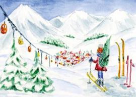 Gisela Herberger - Skiën