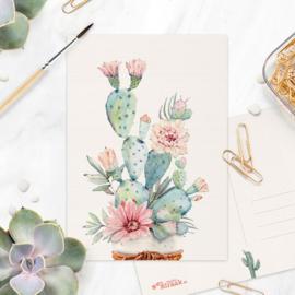 Studio Draak - 'Petites plantjes'  Versie : Witte pot touw