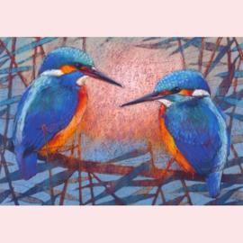 Loes Botman - Twee ijsvogels