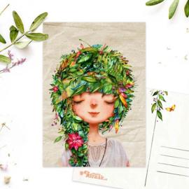 Studio Draak - 'Femmes floral' versie yoga