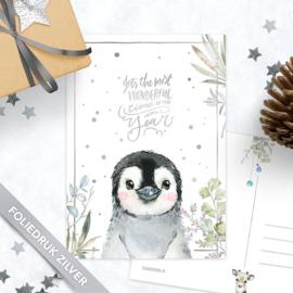 Studio Draak -  'Sneeuwbeestjes' pinguïn