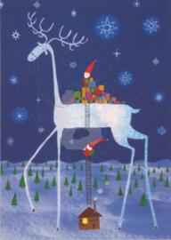 Ilustris - Rendier met kerstcadeaus