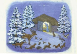 Molly Brett - Dieren in de sneeuw