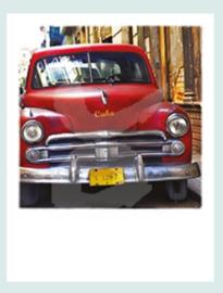 PolaCard - Cuba Car