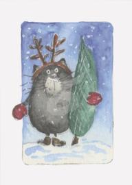 Gisela Herberger - Kerstboom kopen