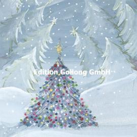 Sabrina Comizzi - Kerstboom in de sneeuw