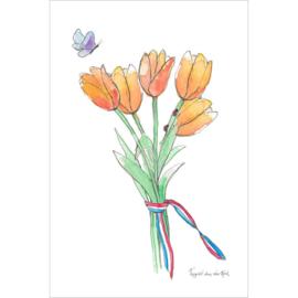 Fantasiebeestjes - Tulpen Holland