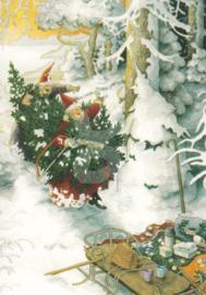 Inge Löök : Met de kerstboom - NR 54