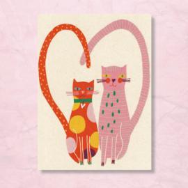 Claire van Heukelom - Katten liefde