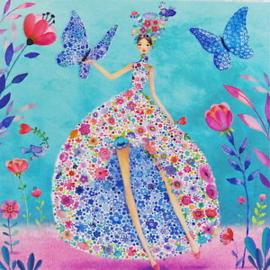 Mila Marquis - Bloemenjurk