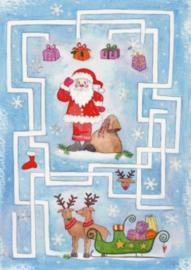 Inga Berkensträter -  Kerstman Labyrinth