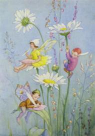 Margaret W Tarrant - Joan in Flowerland