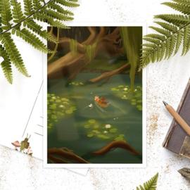 Studio Draak -  'Op avontuur in de natuur'  Versie : Bootje