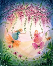 BijdeHansje - Fairies with flowers