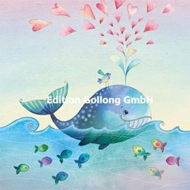 Nina Chen - Walvis met hartjes