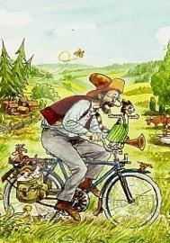 Sven Nordqvist - Op de fiets