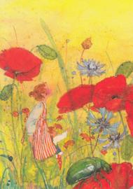 Daniela Drescher - Tussen de bloemen