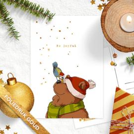 Studio Draak - 'Beregezellige kerst'  Vogeltje