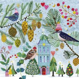 Mila Marquis - Vogels in de winter
