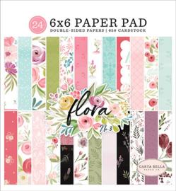 Carta Bella Flora No.3 6x6 Inch Paper Pad