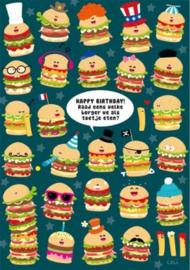 Lali - Happy Birthday! Raad eens welke burger we als toetje eten?