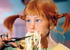 Pipi Langkous - Spaghetti knippen