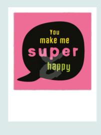 PolaCard - Super Happy