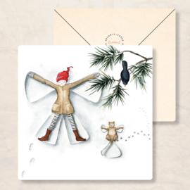 IsaBella Illustrations - Winter sneeuwengel