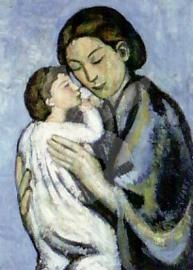 Pablo Picassso - Moeder en kind 1901