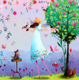 Mila Marquis - Viool spelen