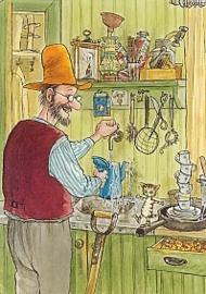 Sven Nordqvist - In de keuken