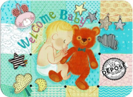 Editions des Correspondances : Welcome Baby door Audrey Bussi et Elisa Rochetain