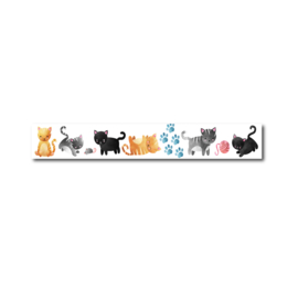 Only Happy Things - Washi tape Katten