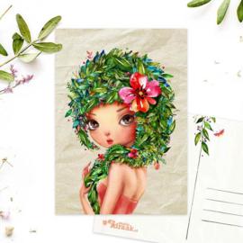Studio Draak - 'Femmes floral' versie Flirt