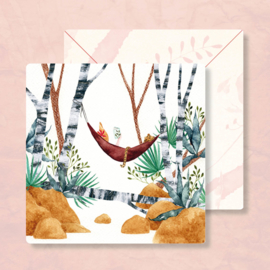 IsaBella Illustrations - In de hangmat