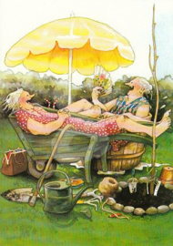 Inge Löök : Relaxen in de kruiwagen - NR 20