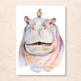 Veer Illustratie - Nijlpaard