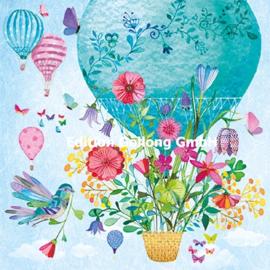 Mila Marquis - Luchtballon met bloemen