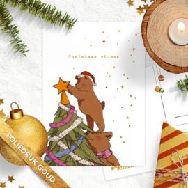 Studio Draak - 'Beregezellige kerst'  Kerstboom
