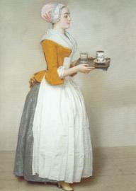 Jean-Etienne Liotard - Het chocolademeisje