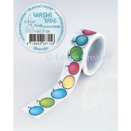 Leane Creatief Washi Tape Small Round Labels