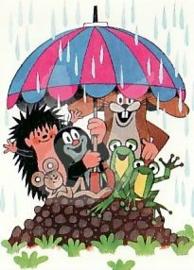 Het molletje - Onder de paraplu