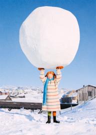 Pippi Langkous - Sneeuwbal op tillen