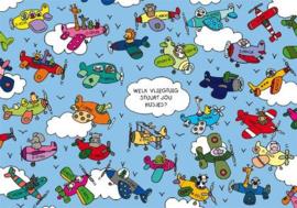 Lali - Welk vliegtuig stuurt jou kusjes ?