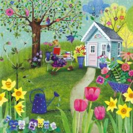 Mila Marquis - Lezen in de tuin