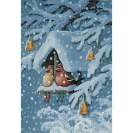 Inkognito  - Vogelhuisje in de winter