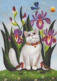 Marie Amalia - Tussen de bloemen