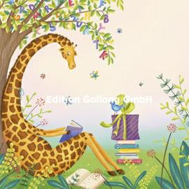 Tatjana Beimler - Giraffe met boek