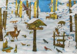 Christian Kaempf  - Winter in het bos