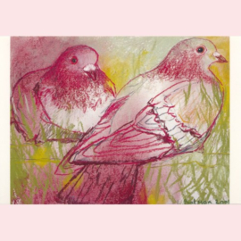 Loes Botman - Rode duifjes